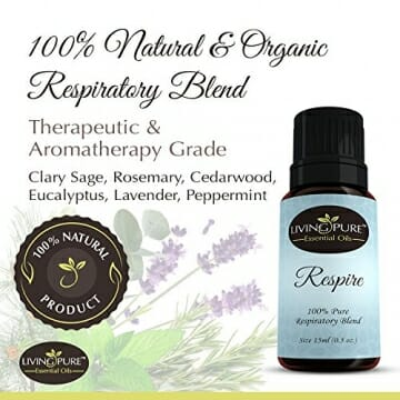 #1 Respiratory Essential Oil & Sinus Relief Blend - Supports Allergy Relief, Breathing, Congestion Relief, & Respiratory Function - 100% Organic Therapeutic & Aromatherapy Grade - 15ml - 2