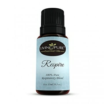#1 Respiratory Essential Oil & Sinus Relief Blend - Supports Allergy Relief, Breathing, Congestion Relief, & Respiratory Function - 100% Organic Therapeutic & Aromatherapy Grade - 15ml - 1