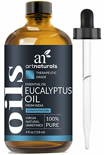 ArtNaturals 100% Pure Eucalyptus Essential Oil - (4.0 Fl Oz/120ml) - Therapeutic Grade Natural Oils - Includes Our Aromatherapy Signature Zen & Chi Blends - 1