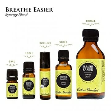 Breathe Easier 100% Pure Therapeutic Grade Synergy Blend Essential Oil by Edens Garden-10 ml, GC/MS tested, CPTG - 3