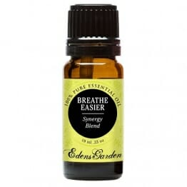 Breathe Easier 100% Pure Therapeutic Grade Synergy Blend Essential Oil by Edens Garden-10 ml, GC/MS tested, CPTG - 1