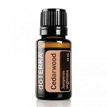doTERRA Cedarwood Essential Oil - Naturally Repels Insects, Promotes Relaxation, Helps to Keep Skin Looking Healthy; for Diffusion, Internal, or Topical Use - 15 ml - 1