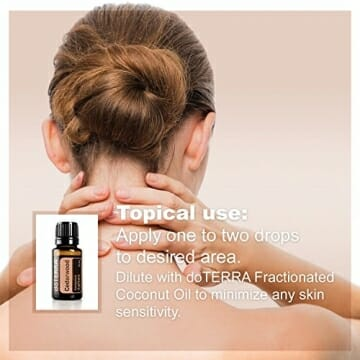 doTERRA Cedarwood Essential Oil - Naturally Repels Insects, Promotes Relaxation, Helps to Keep Skin Looking Healthy; for Diffusion, Internal, or Topical Use - 15 ml - 5