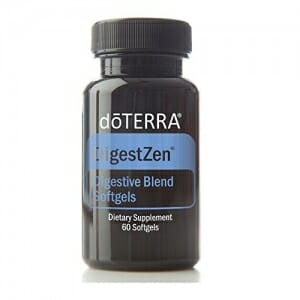 doTERRA DigestZen Essential Oil Digestive Blend 60 Softgels - 1