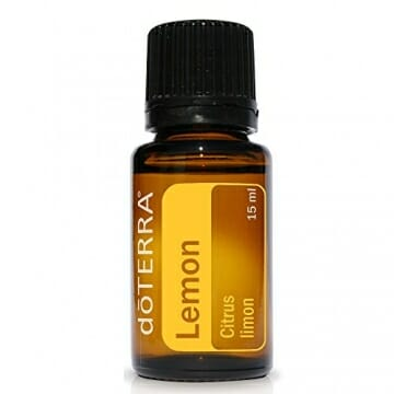 doTERRA Lemon Essential Oil - Supports Healthy Respiratory Function, Energized and Positive Mood, Refreshing Natural Cleansing and Digestive Benefits; For Diffusion, Internal, or Topical Use - 15 ml - 1