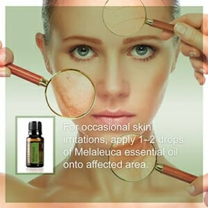 doTERRA Melaleuca Essential Oil - Promotes Healthy Immune Function, Seasonal Protection, Cleansing and Rejuvenating Effect on Skin; For Diffusion, Internal, or Topical Use - 15 ml - 8