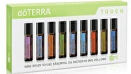 doTERRA Touch - 9 Ready to use Essential Oil Blends in 9 ml Roll-Ons - 1