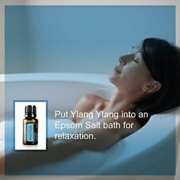 doTERRA Ylang Ylang Essential Oil - Provides Antioxidant Support, Promotes Appearance of Healthy Skin and Hair, Promotes Calming Effect and Lifts Mood; For Diffusion, Internal, or Topical Use - 15 ml - 8