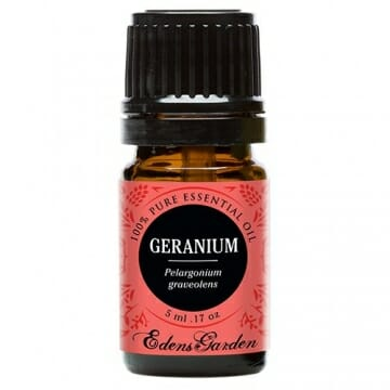 Edens Garden Geranium 5 ml 100% Pure Undiluted Therapeutic Grade GC/MS Certified Essential Oil - 1