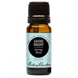 Edens Garden Good Night 10 ml 100% Pure Therapeutic Grade GC/MS Tested (Lavender, Sweet Majoram, Chamomile, Bergamot, Ylang Ylang, Sandalwood, Key Lime, Vanilla) - 1