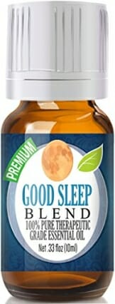 Good Sleep Essential Oil - 100% Pure, Best Therapeutic Grade - 10ml - Includes Chamomile, Copaiba, Lavender, Sandalwood & More - 1