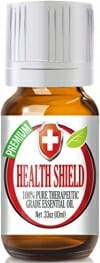 Health Shield Essential Oil (100% PURE THERAPEUTIC GRADE) by Healing Solutions - 10ml - 1