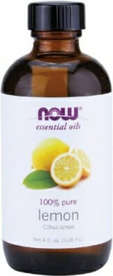 NOW Solutions Lemon Essential Oil, 4-Ounce - 1
