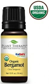 Plant Therapy Bergamot Organic Essential Oil 10 mL (1/3 oz) 100% Pure, Undiluted, Therapeutic Grade - 1