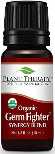 Plant Therapy Germ Fighter Organic Synergy Essential Oil 10 mL (1/3 oz) 100% Pure, Undiluted, Therapeutic Grade - 1