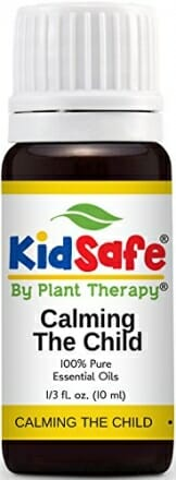 Plant Therapy KidSafe Calming the Child Synergy Essential Oil Blend. 100% Pure, Undiluted, Therapeutic Grade. Blend of: Chamomile Roman, Lavender, Mandarin and Tangerine. 10 mL (1/3 Ounce) - 1