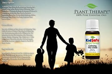 Plant Therapy KidSafe Calming the Child Synergy Essential Oil Blend. 100% Pure, Undiluted, Therapeutic Grade. Blend of: Chamomile Roman, Lavender, Mandarin and Tangerine. 10 mL (1/3 Ounce) - 7