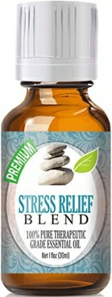 Stress Relief Blend 100% Pure, Best Therapeutic Grade Essential Oil - 30ml / 1 (oz) Ounce - Bergamot, Patchouli, Blood Orange, Ylang Ylang, Grapefruit - 1