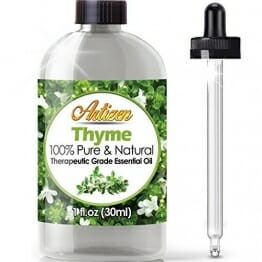 Artizen Thyme Essential Oil (100% PURE & NATURAL - UNDILUTED) Therapeutic Grade - Huge 1oz Bottle - Perfect for Aromatherapy, Relaxation, Skin Therapy & More! - 1