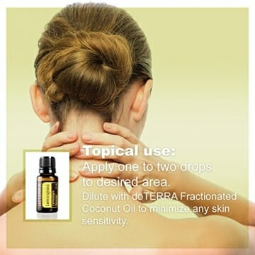 doTERRA Lemongrass Essential Oil - Supports Healthy Digestion, Used for Soothing Massage and Refreshing Feeling; For Diffusion, Internal, or Topical Use - 15 ml - 6