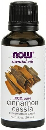 NOW Cinnamon Cassia Oil, 1-Ounce - 1