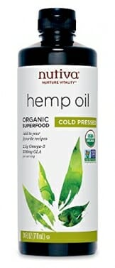 Nutiva Organic Cold-Pressed Unrefined Hemp Oil, 24 Ounce - 1