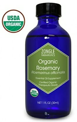 Zongle USDA Certified Organic Rosemary Essential Oil, Safe To Ingest, Rosmarinus Officinalis, 1 oz - 1