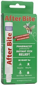 After Bite Advanced Formula With Baking Soda & Ammonia, Pharmacist Preferred Insect Bite & Sting Treatment, Skin Protectant, Portable Instant Relief, Stop Itching Applicator Pen, 0.5-ounce (4 pack) - 1