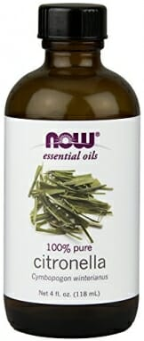 NOW Solutions Citronella Essential Oil, 4-Ounce - 1