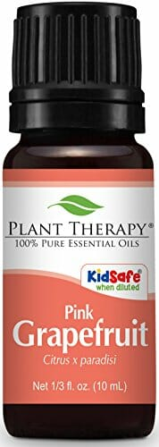 Plant Therapy Grapefruit Pink Essential Oil 10 mL (1/3 oz) 100% Pure, Undiluted, Therapeutic Grade - 1